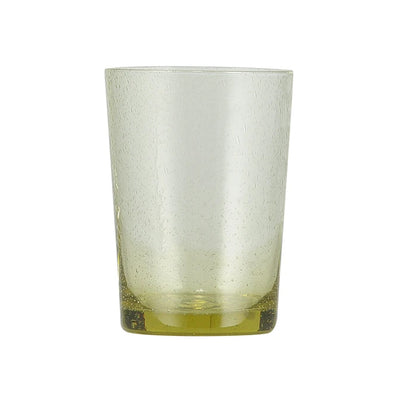 Tuscan Yellow Handmade Glass Tumbler