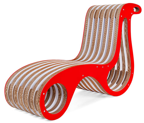 Chaise Longue X2Chair by Lessmore con profile Ecoalf