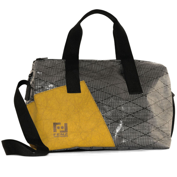 Borsa in vela riciclata Gym Yellow