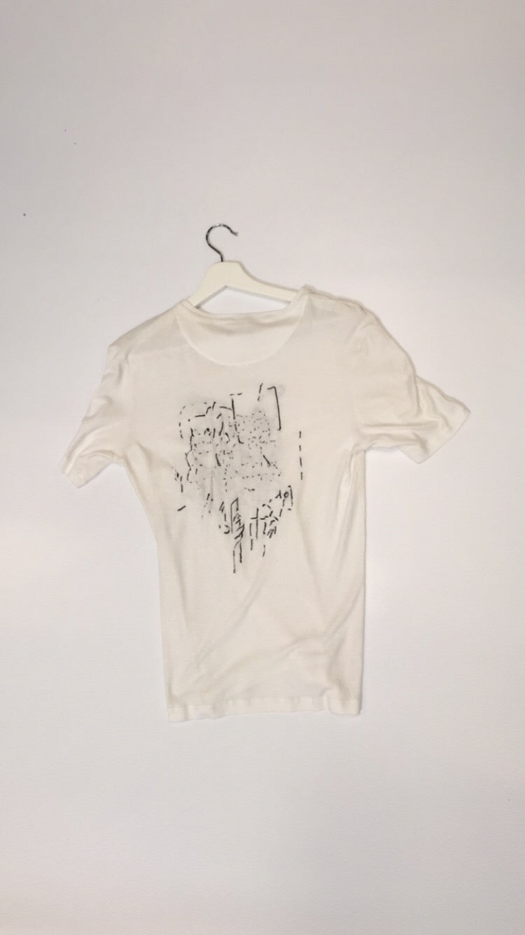 Rami Farook Hand Embroidered T-Shirt