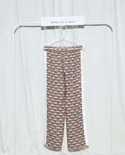 "Load image into Gallery viewer, Tania George Printed Track Pants ""Bushar"""