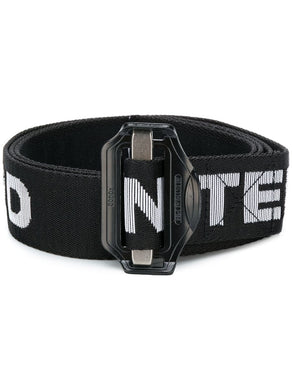 United Standard Slide Block Belt Black/White