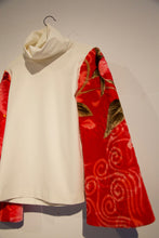 "Load image into Gallery viewer, Fadi Zumot ""Hram"" Sleeves Top White"