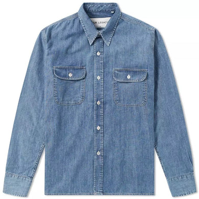 Our Legacy Vintage Denim Country Shirt
