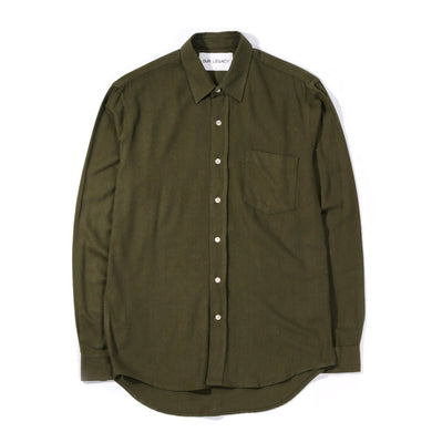 Our Legacy Classic Shirt Grass Silk Noil