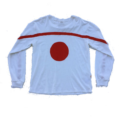 Nor Black Nor White Long Sleeve Red Alta