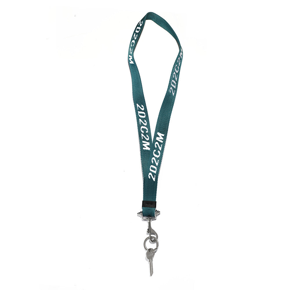 Too Dark To See Tomorrow Lanyard Keyring