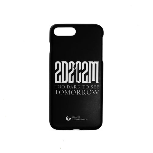 Too Dark To See Tomorrow Logo IPhone Case