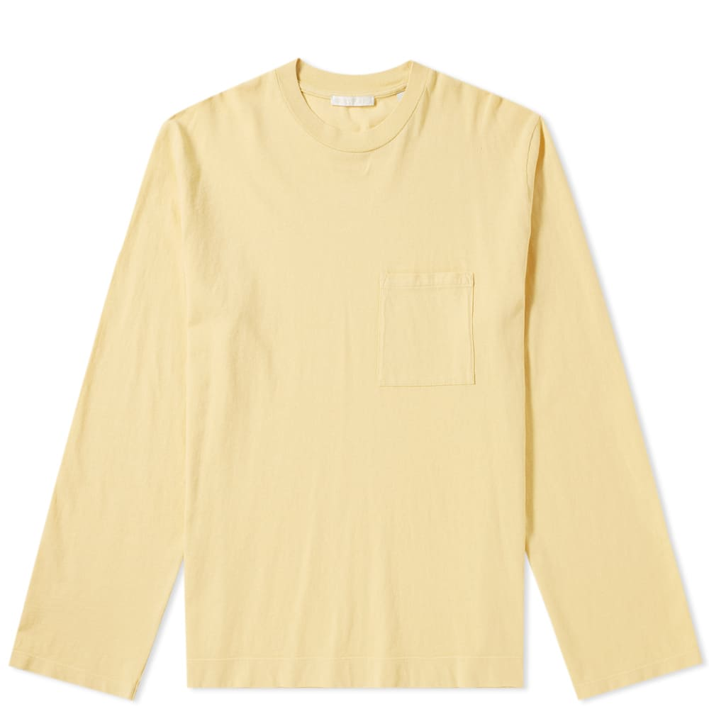 Our Legacy Box Longsleeve Sun Yellow Army Jersey