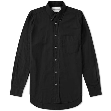 Our Legacy Original Button Down Shirt Black