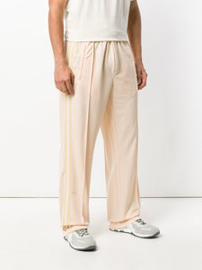 Our Legacy Track Pants Banded Nicotine Stiff Poly