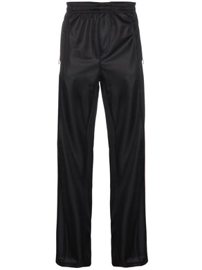 Our Legacy Track Pants Banded Black Solid Stiff Poly
