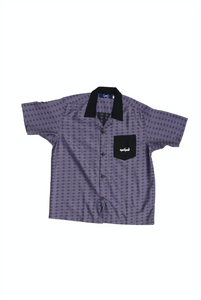 Shabab Purple Bowling Shirt