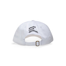 Load image into Gallery viewer, Broke Club Official Dead Money Cap White