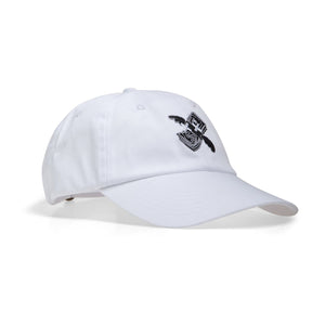 Broke Club Official Dead Money Cap White