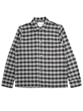 Our Legacy Gingham Flannel Box Shirt