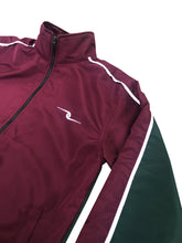 Load image into Gallery viewer, Precious Trust Maroon/Green Mix Tracksuit Top