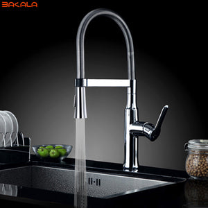Hot and cold water chrome basin sink