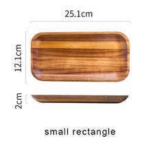 Acacia Wooden Tray, Dinner Plate
