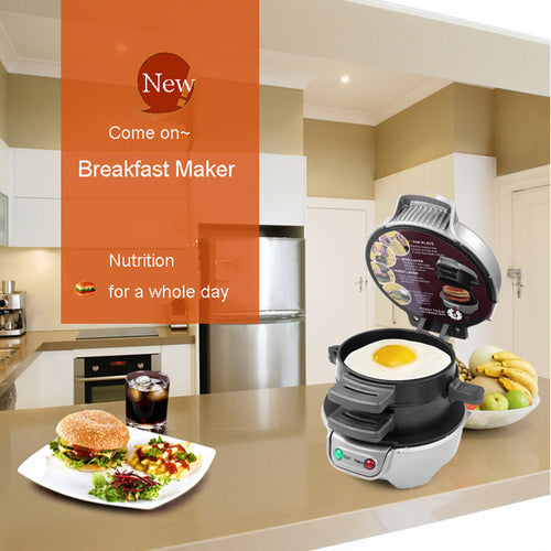 220V Breakfast/Sandwich Maker Grilling / Panini / Hamburger Machine