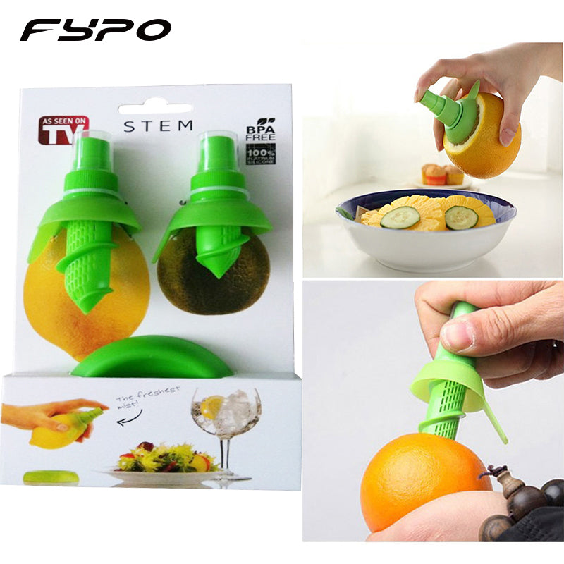 2pcs/Set Lemon Sprayer kitchen Gadgets