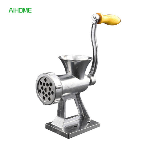Table Mount Manual Meat Grinder and Sausage Stuffer