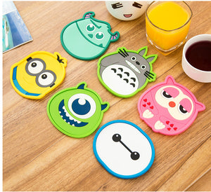 1 Pcs Silicone Dining Table Placemat Coaster
