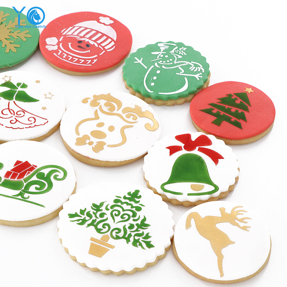 12pcs/lot Christmas Decoration Cookie Mold