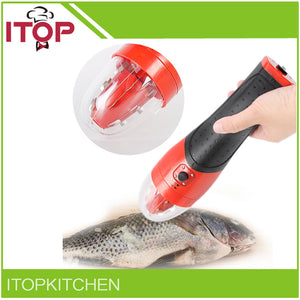 Powerful electric fish scaler