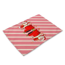 1PC Placemat Bowl Fork Placemat Mat
