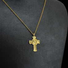 Cross Necklaces Gold Silver Jesus Christian Religion Pendant Necklace for Woman Man Special Festival - Amen Style - Christian Jewelry, T-shirts and Decor