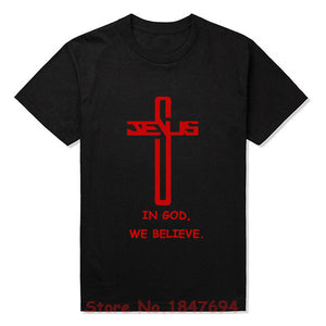 In God we believe - Cool Christian T-shirt
