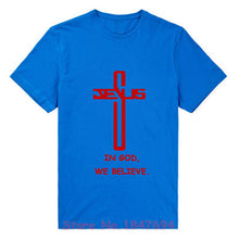 In God we believe - Cool Christian T-shirt - Amen Style - Christian Jewelry, T-shirts and Decor
