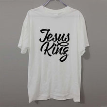 Jesus King - Calligraphy Christian T-shirt - Amen Style - Christian Jewelry, T-shirts and Decor