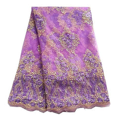 african lace nigerian lace purple