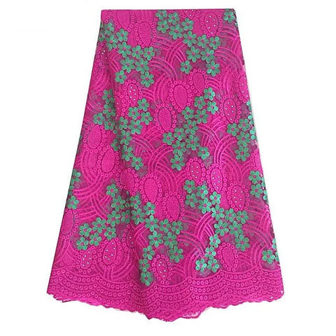 african lace fabric nigerian lace 377 rose