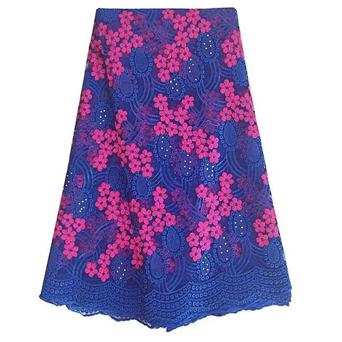 african lace fabric nigerian lace 377 blue