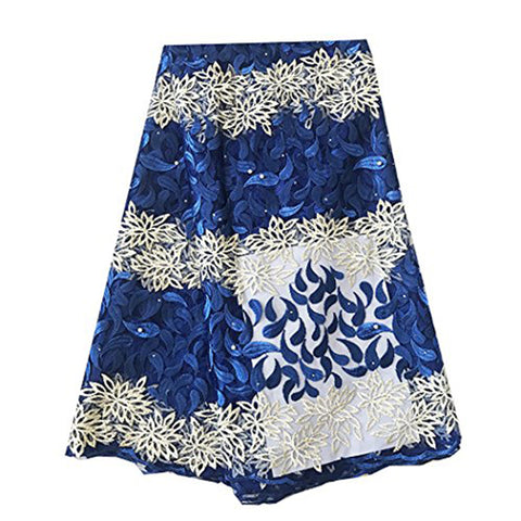 african lace fabric nigerian lace royal blue