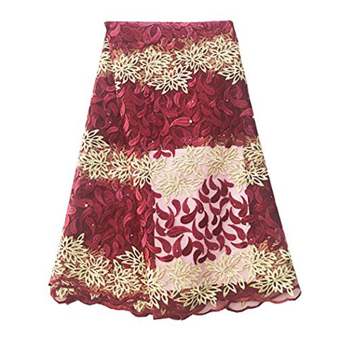 african beaded lace fabric african lace nigerian lace 624 wine