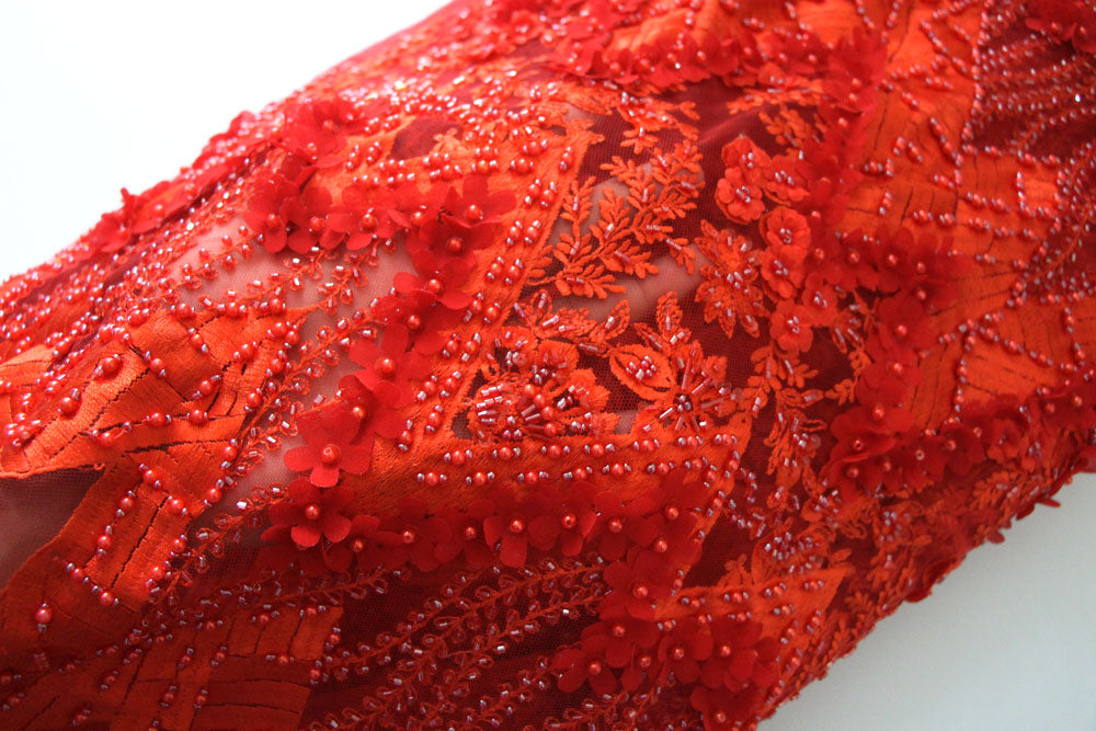 African Limited Edition Luxury Lace Fabric