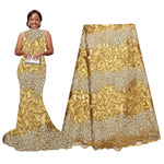 African Lace Fabric | Nigerian dresses | pqdaysun african fabric