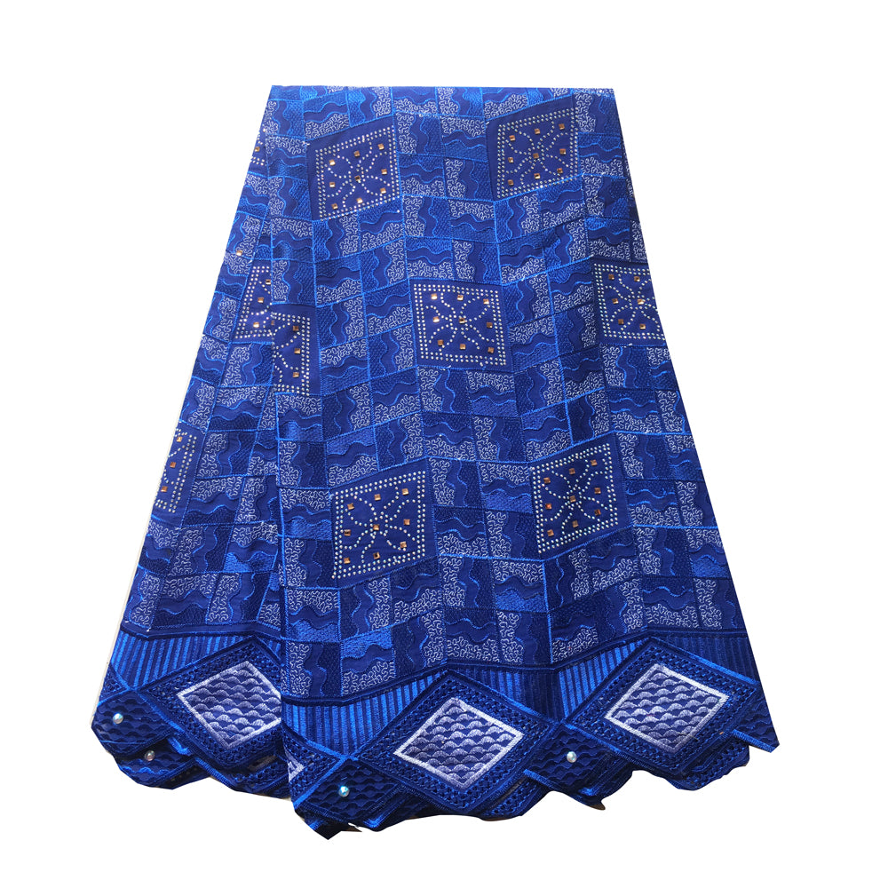 African Lace Fabric  | Swiss voile Lace blue | pqdaysun lace fabric 5 yards
