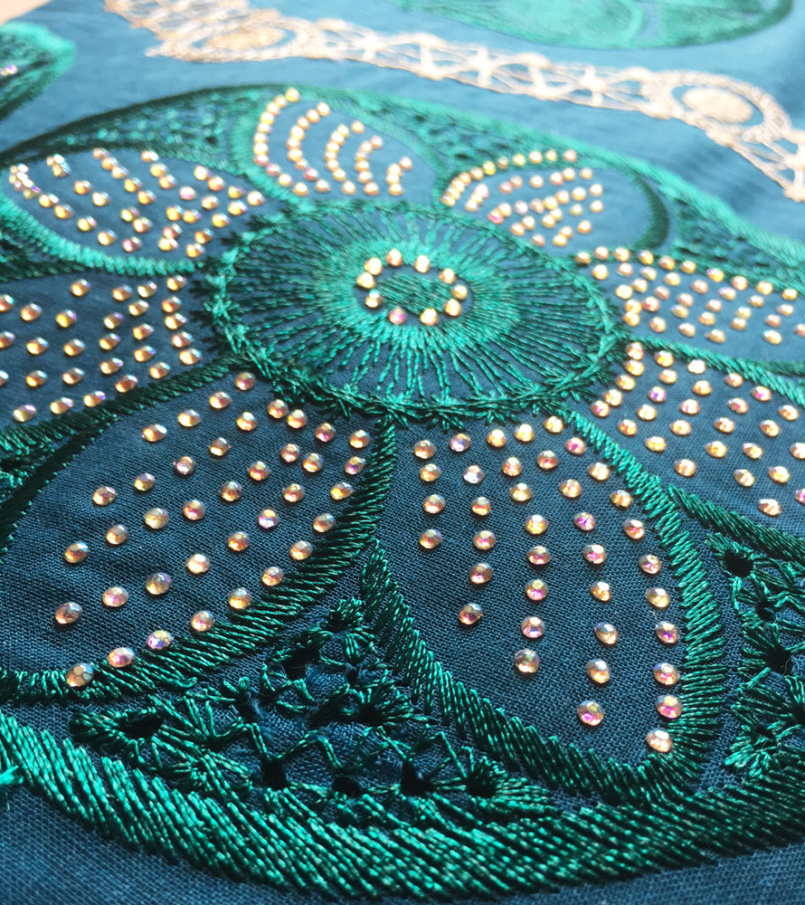 African Lace Fabric  | Swiss voile Lace green | pqdaysun lace fabric 5 yards