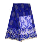 African Lace Fabric  | French Lace Fabric 5 Yards | pqdaysun lace fabric F50762
