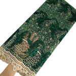 African Lace Fabric  | French Lace Fabric 5 Yards | pqdaysun lace fabric F50763