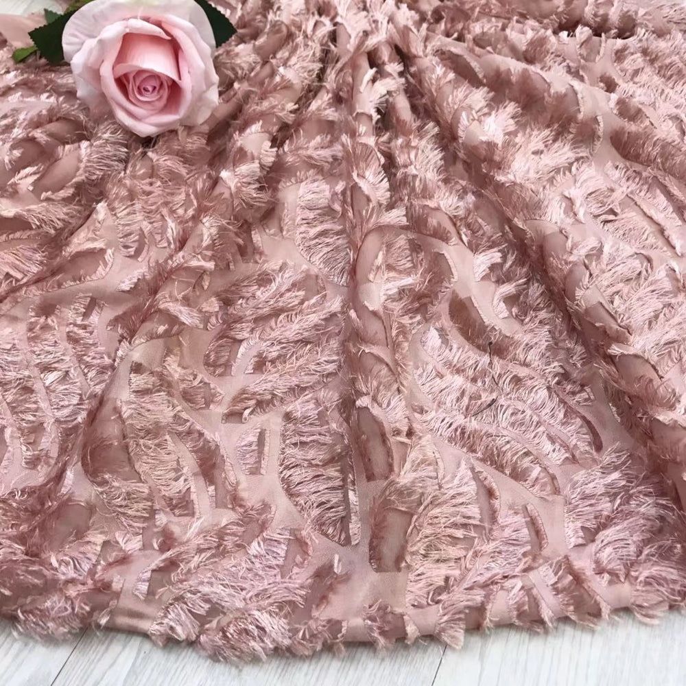 BEAUTIFICAL  African lace fabric hot sell lace fabric french lace  cheap price Chiffon fabric for wedding 5 yards/lot  JYN302
