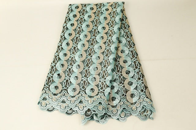 African Lace Fabric 2019 Embroidered Nigerian Laces Fabric Bridal High Quality French Tulle Lace Fabric For Wedding Party YM107