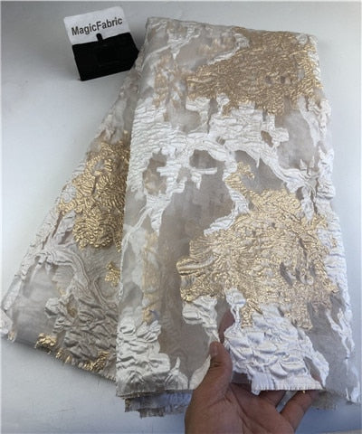 African lace fabric 2019 High Quality Embroidered Brocade Lace  french Tulle Lace Fabric for nigeria party dress    COP-003