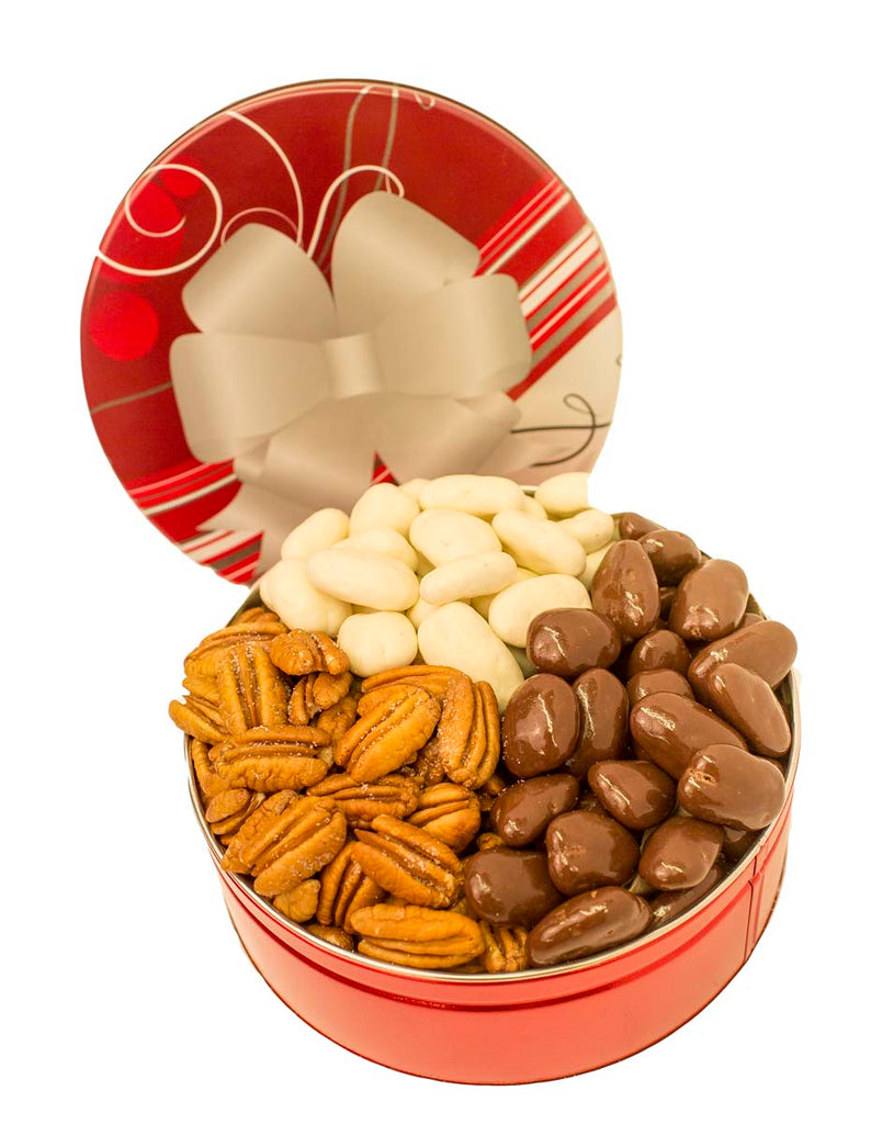 JR GIFT TIN CHOCOLATE AND ROASTED TRIO