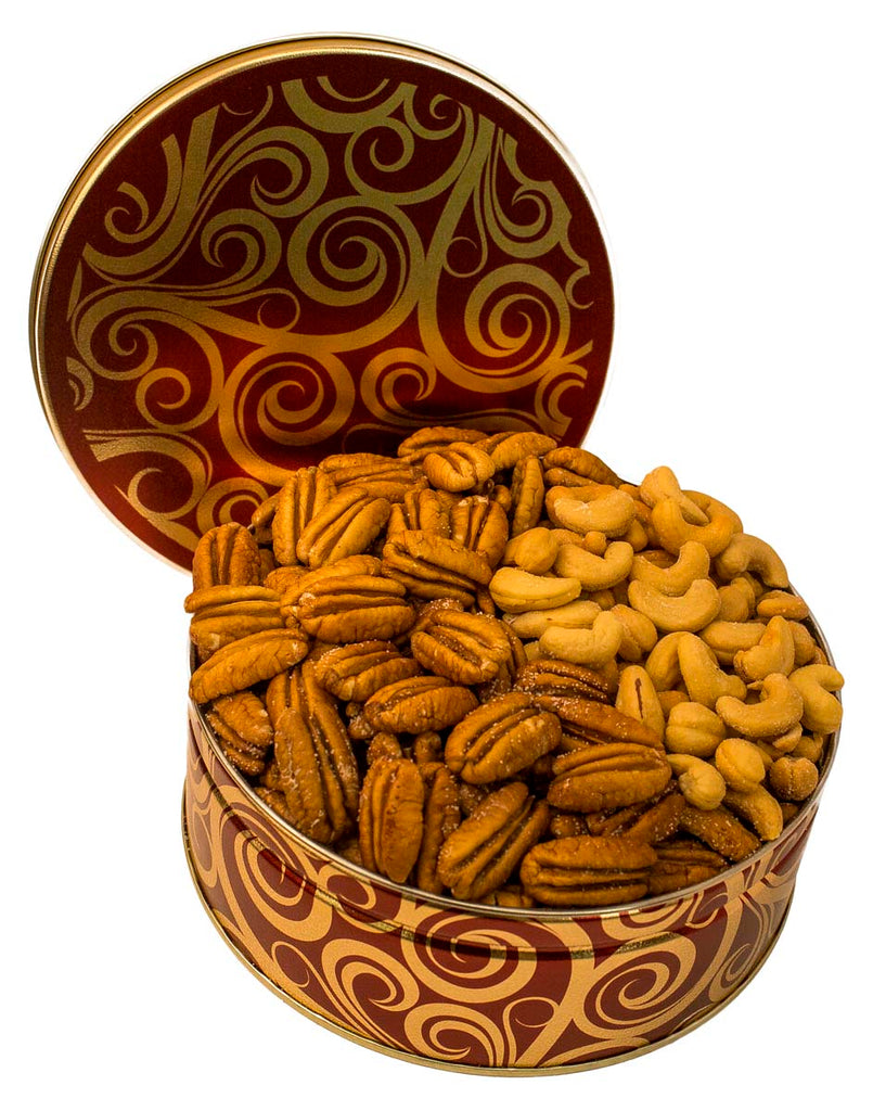 CORPORATE GIFT TIN NUTTY NUT TRIO